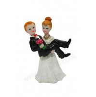 Poročna figura - smešen par 03