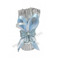 Konfet-čokoladica/modra-pentlica