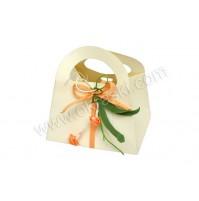 Poročni konfet - torbica /marelični