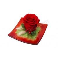 Konfet-steklen/rdeča vrtnica-obdelana 4