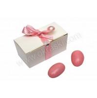 Konfet - škatlica - roza