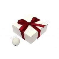 Konfet - škatlica - bordo rdeča