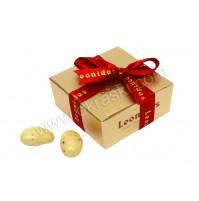 Konfet - škatlica - zlata/široka