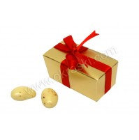 Konfet - škatlica - zlata/ozka