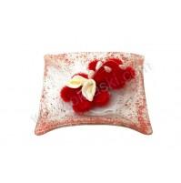 Konfet-steklen/rdeče rožice-kala 3
