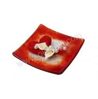 Konfet-steklen/rdeče srce-kala 2