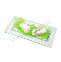 Konfet-steklen-zelen/laboda 1