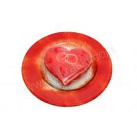Konfet-steklen/rdeče-srce-kolač 2