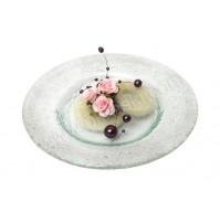 Konfet-steklen/roza vrtnice-prstančki