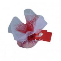 Poročni konfet - bordo rdeč - 1