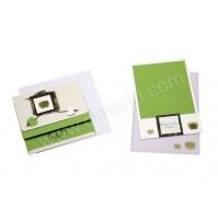Poročni komplet - zeleno jabolko 1