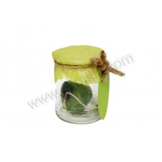 Poročni konfet - jabolko/stekleni kozarček