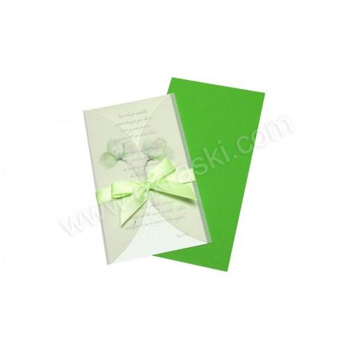 Vabilo - zeleno - Elizabeta