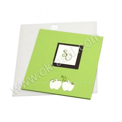 Vabilo zeleno jabolko 3