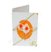 Vabilo - oranžno - vrtnica