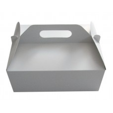 Poročna škatla za pecivo - bela - velika