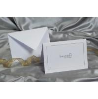 Vabilo - belo/okvirček 1