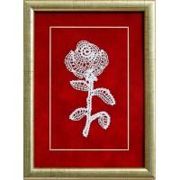 Slika s čipko - vrtnica 01