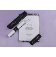 Vabilo - črno/belo - diploma
