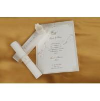 Vabilo - bež/škatlica - diploma