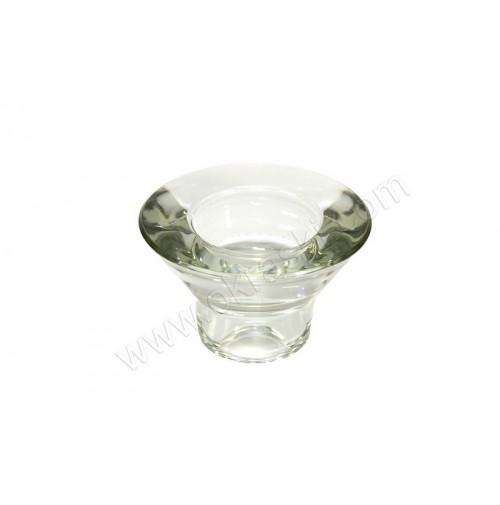 Svečnik za čajno svečko/steklen
