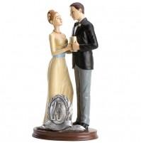 Poročni par - ženin in nevesta/25 obletnica poroke