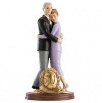Poročni par - ženin in nevesta/50 obletnica poroke
