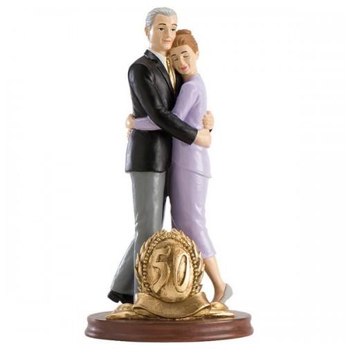 Poročna figura - ženin in nevesta/50 obletnica poroke