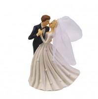 Poročni par - ženin in nevesta - porcelan 6