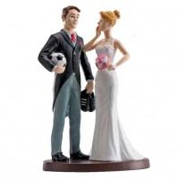 Poročni par - ženin in nevesta/ nogometaš  13