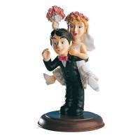 Poročna figura - smešen par 07