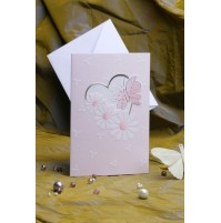 Vabilo - marjetka - roza