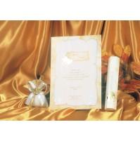 vabilo - diploma z zlati srčki