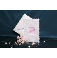 Vabilo - okence z roza vrtnico