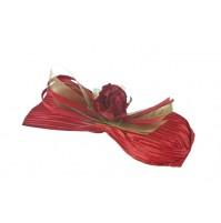 Poročni konfet - čokoladica/rdeč
