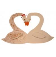 Poročno - valentinova laboda 1