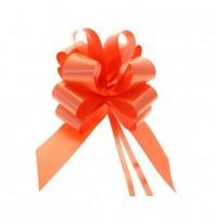 Mašna na poteg - oranžna