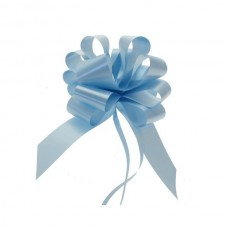 Mašna na poteg - svetlo modra - velika