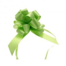 Mašna na poteg - svetlo zelena - mala