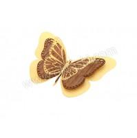 Poročni-naprsni-šopek-priponka-les-metulj