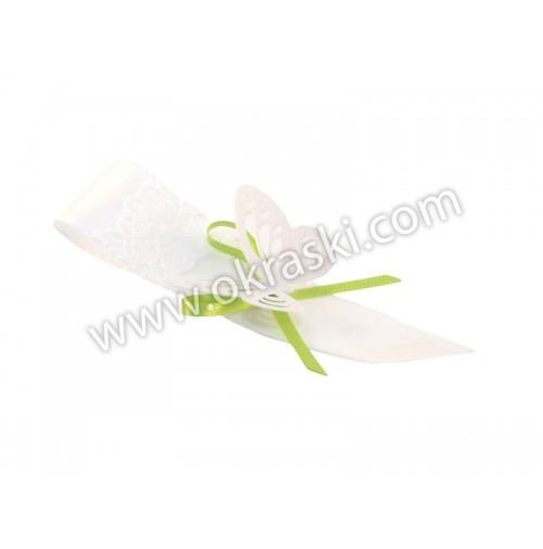 Poročni-naprsni-šopek-belo-zelen-metuljček