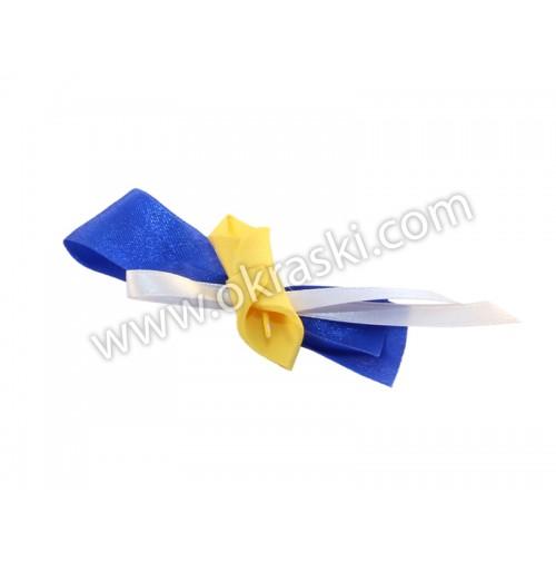 Poročni-naprsni-šopek-kala-rumeno-modra