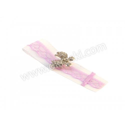 Poročni-naprsni-šopek-belo-lila-diamantni-metuljček