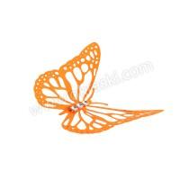Poročni-naprsni-šopek-oranžen-metulj-velik