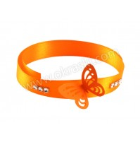 Poročna-zapestnica-oranžni-metulj