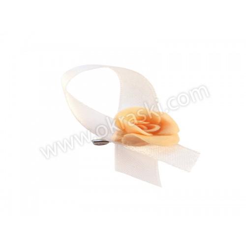 Poročni-naprsni-šopek-mini-vrtnica-marelični
