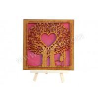 Poročno-vabilo-leseno-pod-drevesom-rdeče