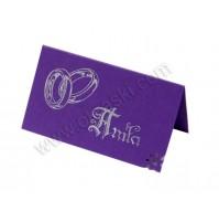 Kartica za sedežni red/viola - kaligrafija