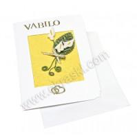 Vabilo -rumena/kala