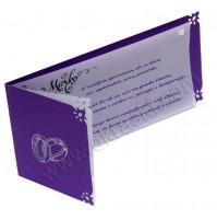 Vabilo - viola/kaligrafija